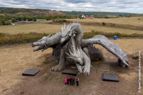 Змей Горыныч на Кудыкиной горе в Липецкой области