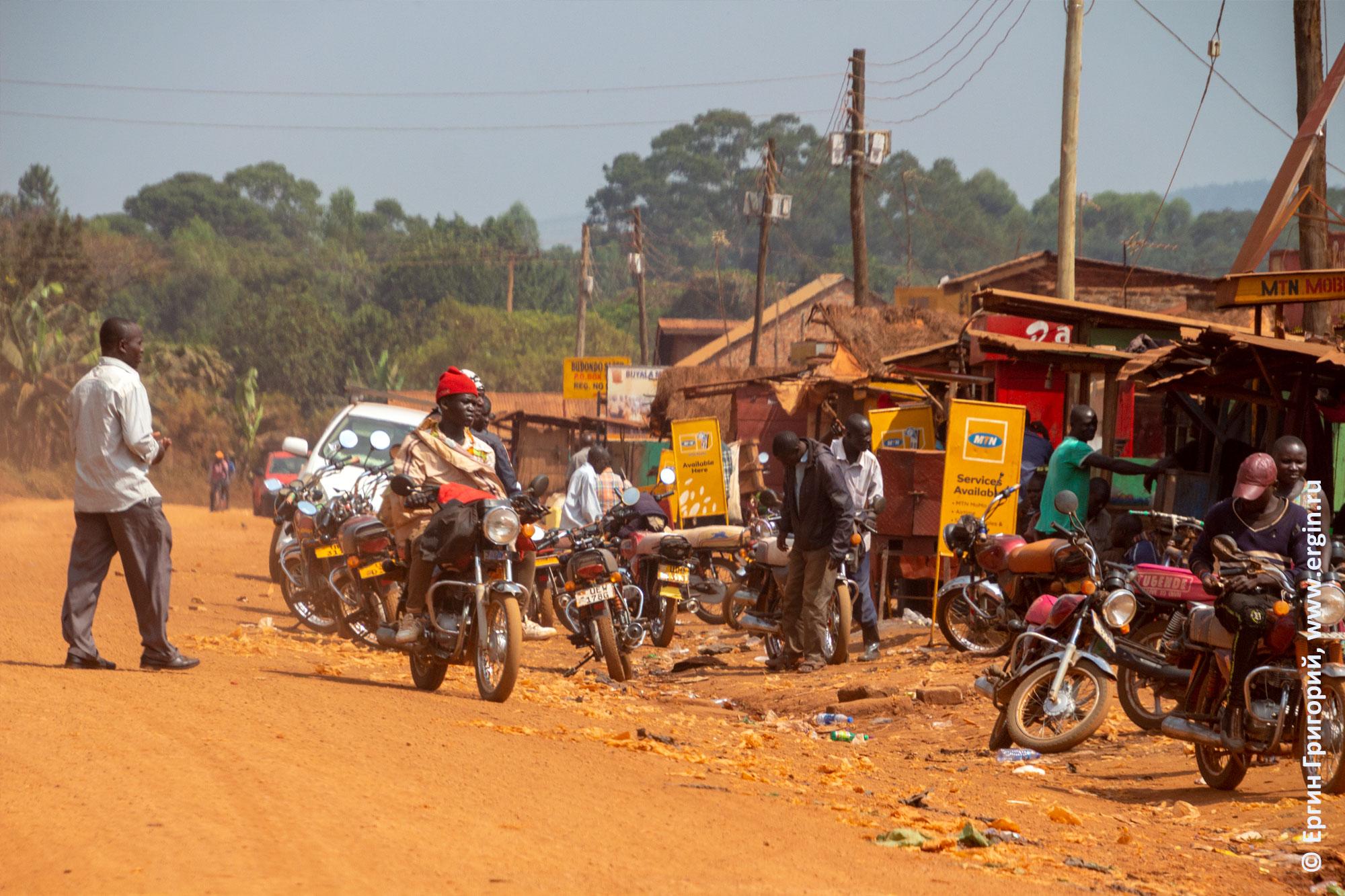Деревня в Уганде
