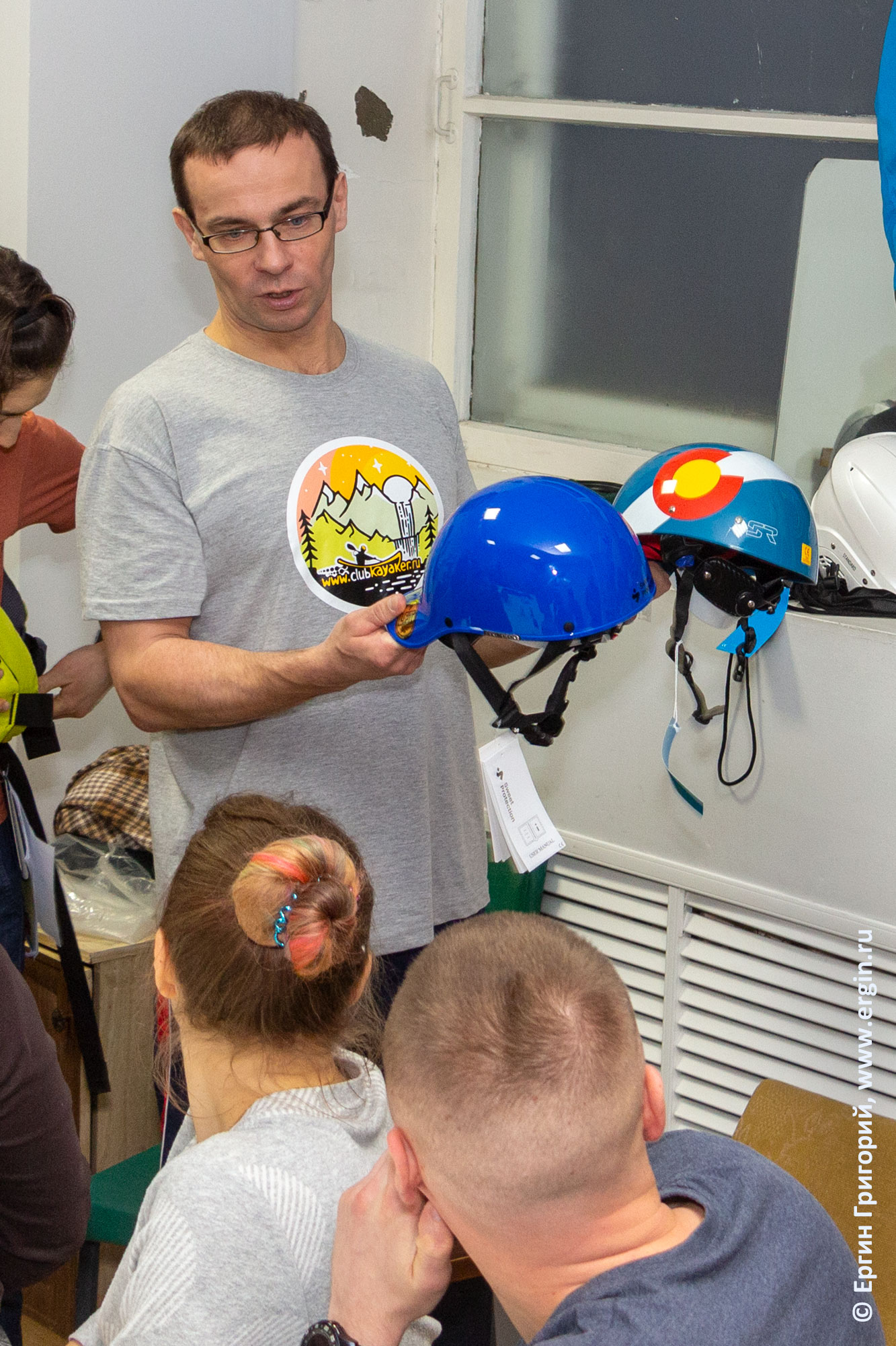 Шлемы для бурноводного каякинга