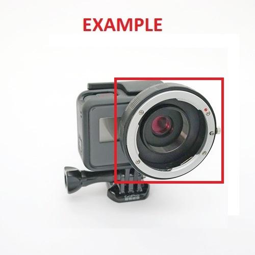 Байонет для объектива фотоаппарата на GoPro