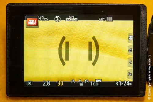 Экран Panasonic DMC-FZ300: 30 fps и видеосъемка без ограничения времени